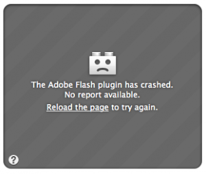 I hate you, flash!